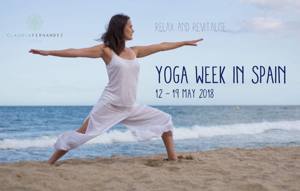 Yoga week in Spain